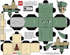 Star Wars und insbesondere Lego Star Wars ziehen mich bereits seit einiger Zeit in ihren Bann. Dank Marekita bin ich auf Star Wars Papercrafts aufmerksam geword