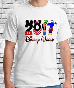 2017 camisa de vacaciones de Disney juego por CleanlyWheatGraphics