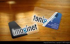 other DJ business card design    transparency