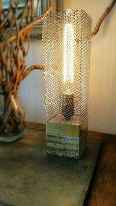Rustic Wood Items similar to Desk Lamp, Edison Lamp, Recycled Wood Lamp, … Rustic Mirrors, Rustic Lamps, Rustic Lighting, Rustic Wall Decor, Rustic Chandelier, Rustic Backdrop, Rustic Theme, Bedroom Rustic, Rustic Colors