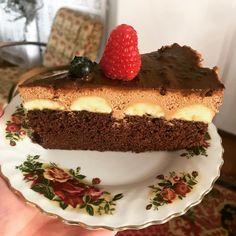 Kubánska čokoládovo-banánová torta - Receptik.sk Tiramisu, Cheesecake, Ethnic Recipes, Desserts, Tailgate Desserts, Deserts, Cheesecakes, Postres, Dessert