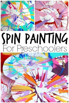 Spin Painting for Pr