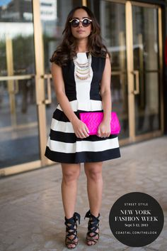 New York Fashion Week | Street Style from Coastal.com | Click to see more on our e-magazine, theLOOK