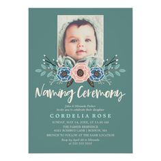 18 Awesome Naming Ceremony Invitation Card Stock - Wedding ceremony Invitation Cards Printing Jargon You may need seen incredibly beautiful and engaging Invitation Card Printing, Online Invitations, Photo Invitations, Invitation Card Design, Custom Invitations, Invitation Cards, Wedding Invitations, Floral Invitation, Business Invitation