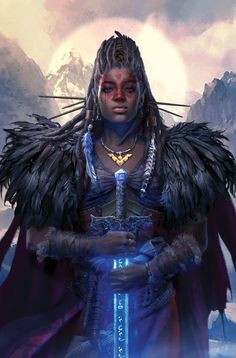 Niobe The Queen by Hyoung Nam - Your Daily Dose of Amazing beautiful Creativity and Digital Art - Fantasy Characters: Archers Assassins Astronauts Boners Knights Lovers Mythology Nobles Scholars Soldiers Warriors Witches Wizards Fantasy Girl, Fantasy Warrior, Fantasy Women, Dark Fantasy, Woman Warrior, Warrior Queen, Final Fantasy, Black Girl Art, Black Women Art