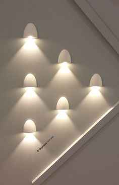 Astro Lighting – great wall lights in a lovely wall arrangement - Great Light Fittings we Saw and Liked at the Lighting Show #MayDesign Series