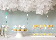 20 Crafty Baby Shower Decorating Ideas for Boys It's almost time for your baby boy! This calls for a celebration so throw the best baby shower party for your little bundle of joy. Liven up your baby shower with colorful and creative& Décoration Baby Shower, Cute Baby Shower Ideas, Gender Neutral Baby Shower, Shower Party, Baby Shower Parties, Baby Shower Themes, Baby Shower Cupcakes, Bridal Shower, Rain Shower