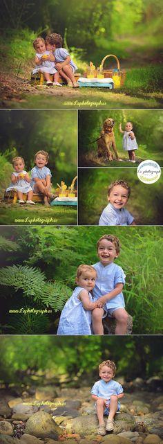 Sesión de fotos creativa con niños en el campo. Limonada. Children creative photoshoot in the field. Lemonade. www.lephotograph.es