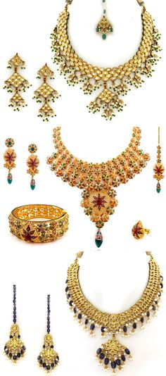 epic India Jewelry....Aminee  See more Indian wedding inspiration at www.weddingsonline.in