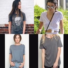 NWT brandy melville blue/grey violet top NWT brandy melville blue/grey violet top. SOLD OUT. one size. reposh. natural distressed look. *stickers not included but can be added on* retails for $26+tax+shipping, totals up to about $36. price negotiable, bundle to save! Brandy Melville Tops Tees - Short Sleeve