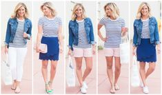 Creating A Summer Capsule Wardrobe [16 Pieces, 30 Ways] - Living in Yellow