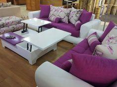 salon 2015 - Recherche Google Mauve, Sofa, Couch, Drawing Room, Cool Furniture, Cool Stuff, Recherche Google, Salons, Decoration