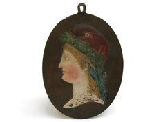 French Marianne Wall Plaque. Antique French by LeBonheurDuJour