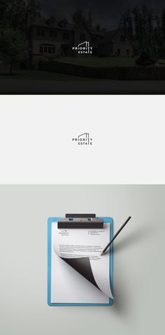 Priority Estate Logo on Behance