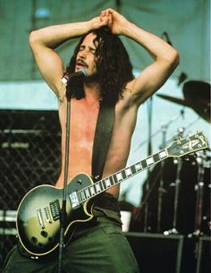Chris Cornell, You're best song is playing in my head now, Like a Stone, Will never forget, RIP best Voice EVER! Most Beautiful Man, Gorgeous Men, Beautiful People, Pearl Jam, Nirvana, Chris Cornell One, Heavy Metal, Say Hello To Heaven, Rock Y Metal