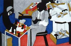 Jacob Lawrence-The Builder's Suite