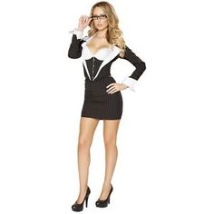 Fi Fi Le Flirt French Maid Adult Costume Dress S M L NIP