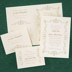 French Romance - Sep 'n Send - Ecru http://celebratedoccasions.carlsoncraft.com/Wedding/Wedding-Invitations/3159-VZ27076EC-French-Romance--Sep-n-Send--Ecru.pro