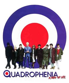 Quadrophenia..This movie will never go out of fashion ..All time brit fave