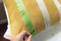How to Paint on Fabric: Using Chalk Paint® decorative paint by Annie Sloan