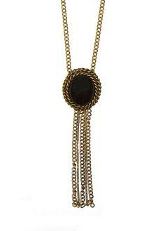 MANGO - Collier maxi pendentif chaînes 2,99€
