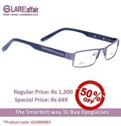 EDWARD BLAZE EBPR2014 GREY EYEGLASSES http://www.glareaffair.com/eyeglasses/edward-blaze-ebpr2014-grey-eyeglasses.html  Brand : Edward Blaze  Regular Price: Rs1,300 Special Price: Rs649  Discount : Rs651 (50%)