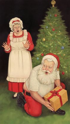 illustrations de dan andreasen - Page 7 The Night Before Christmas, Very Merry Christmas, Father Christmas, Santa Christmas, Christmas Stuff, Christmas 2015, Christmas Wreaths, Christmas Decorations, Xmas