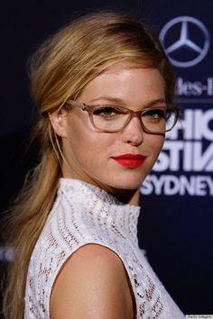 Hair, make up, glasses
