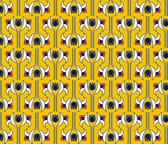Art Deco 5 fabric by newmom on Spoonflower - custom fabric