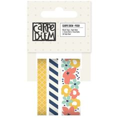 PREORDER Carpe Diem Posh High Style Washi by PlayingWithColor2