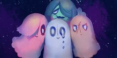 Napstablook, Mettaton and friends ~ Undertale