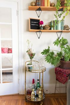 A Cozy, Plant-Filled Bohemian Apartment | Glitter Guide