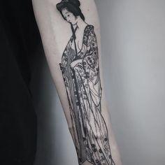 Ukiyo-e geisha getting dressed, thanks again Nick!
