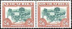 Stamp: Trecking (South Africa) (Definitives) Mi:ZA 201-202,Yt:ZA 150A-153A,Sg:ZA 117