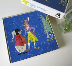 Vintage Children's Puzzle by Thienemann Germany Grimm door Vantoen