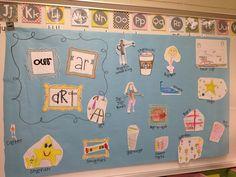 """First Grader...at Last!: """"ar"""" Art Gallery"""