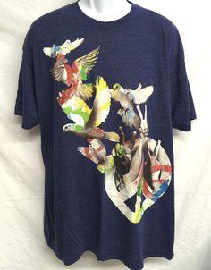 World Peace Doves Rainbow Love Adult Shirt XXL Urban Culture Freedom Imagine USA #GREYSTAR #imagine #peace #peacedoves #urban #peacelovedoves