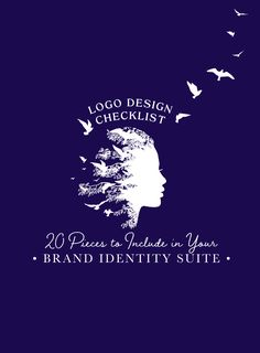A logo design checklist allows you to prioritize and ensure that your brand design communicates exactly what you intend. Logo Branding, Branding Design, Creative Thinking Skills, Design Theory, Famous Logos, Unique Logo, Business Logo Design, Business Inspiration, Visual Communication