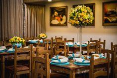 Casamento Azul Tiffany e Amarelo | blogdamariafernanda.com
