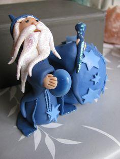 Polymer clay fimo fairy