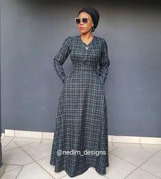 Winter Maxi Dresses @nedim_designs +27829652653 Long African Dresses, African Wear, African Style, African Fashion Dresses, Hijab Fashion, Fashion Outfits, Pregnancy Wear, Maternity Wear, Modest Dresses
