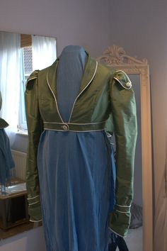 Catherine Regency Spencer/ Fitted Bolero Jacket by BlueLadyCouture, £75.00 - dig the shoulder detail