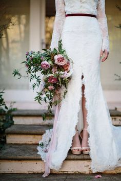 Moody & romantic garden bridal inspiration from Sydney via Magnolia Rouge