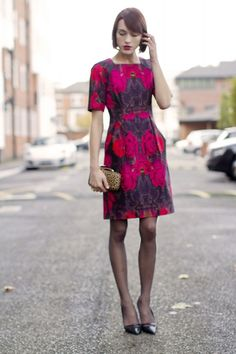 Who said florals were just for Summer?