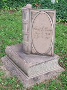 Nothing is more fitting than a book gravestone to mark a person's story and ensure it's never forgotten.
