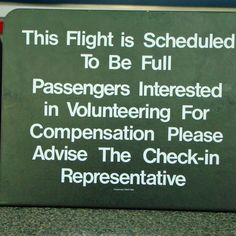 Overbooking - Use an Airline Bump for Budget Travel