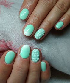 #nail #nails #mannanails #naildesign #pastelnails #ombrenails #greennaiks #gelnails #gellac #géllakk #ignails #instanails #nailsofig #nailsofinstagram #köröm #instaköröm