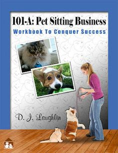 """""""Your Home based Business Plan"""" How to start and run a successful pet sitting home based business from home. Inside are the Foundation Steps, your Key Objectives and the Valuable Resources and Links for you to start and/or operate a successful home based business. Questions IC's?   """"This is a must have book for all pet sitters. The author has been in business for many years and has experienced many things in all aspects of her business."""" Julie Fredrick  The Pet Sitter, LLC"""