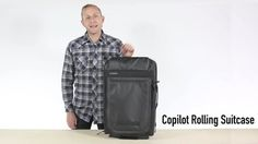 Copilot Rolling Suitcase: A bag to help you fly, it operates as your wingperson on the road. It uses smooth-rolling skateboard wheels that don't rumble along the sidewalk. Its telescoping rod adju