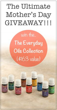 Mother's Day Giveaway: The Everyday Oils Collection {$163 Value} | Rubies & Radishes